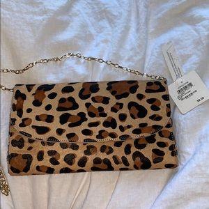 brand new leopard / cheetah print purse